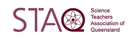 Logo of the Science Teacher Association of Queensland